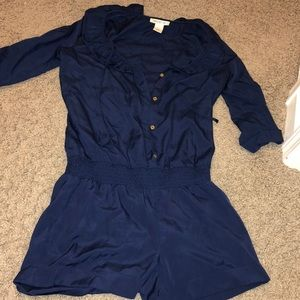 Gorgeous navy blue short jumper